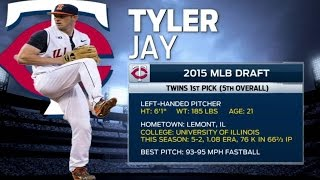 KC@MIN: Tyler Jay talks about being drafted by Twins