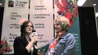 LaRonda Lambert at the Illinois State Florist Convention