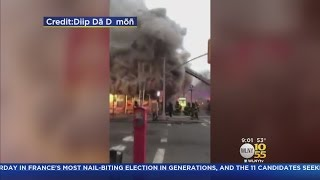 Mosque, Deli Burned In Bed-Stuy Fire