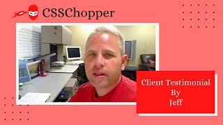 CSSChopper - Video - 3