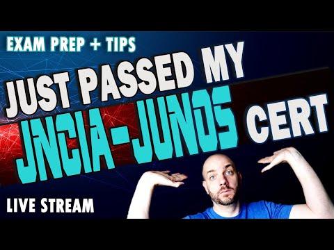 I Passed My Juniper Networks JNCIA-JUNOS Exam | JNCIA Junos ...