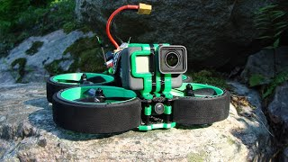Into The Trees with the Iflight Green Hornet and GoPro