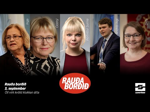 Rauða borðið: ASÍ & stjórnarandstaðan á þingi