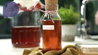 Kombucha (Fermente Çay ☕) Nasıl Yapılır?   Mutfak İpuçları