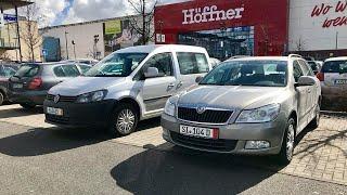 VW Caddy в идеале и Skoda Octavia под ключ из Германии