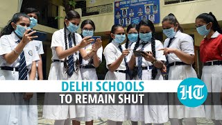 Covid: Delhi schools to remain shut till October 5 amid spike in cases  IMAGES, GIF, ANIMATED GIF, WALLPAPER, STICKER FOR WHATSAPP & FACEBOOK