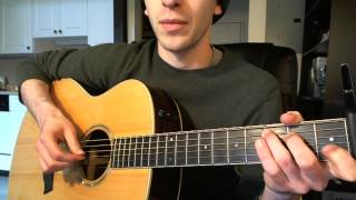 From Can to Can't Guitar Lesson (Dave Grohl, Corey Taylor)