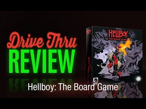 "[DriveThruReview] #652: ""Hellboy: The Board Game"""