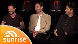 It Chapter Two stars Bill Hader, James Ransone & Andy Bean: extended interview | Sunrise