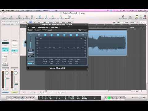Logic Pro 9 Tutorial – Mastering in Logic [ProducerPack.com]