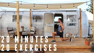 Full Body Fat Burning Workout | 20 Minutes 20 Exercises | The Body Coach by The Body Coach TV