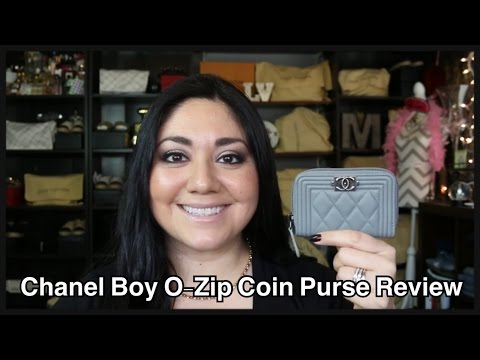 Chanel Lambskin Boy O-Zip Coin Purse Review
