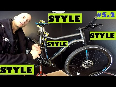 Cannondale Contro on Shimano Alivio bike review. Urban Bicycle. City and style!