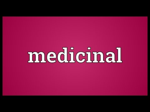 Video Medicinal Meaning