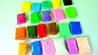 Play Doh Aprende los Colores Con Masilla  Learn Colors With Clay Foam Mundo de Juguetes