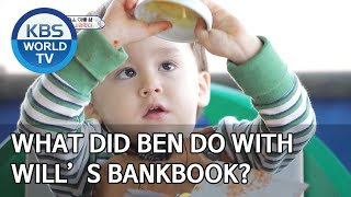 What did Ben do with Will's bankbook? [The Return of Superman/2020.05.17]