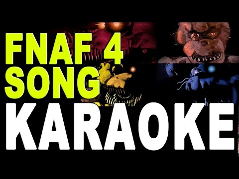 Famous FNAF Songs - Five Nights At Freddy's 4(Instrumental/Karaoke