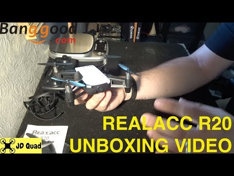 Realacc R20 Unboxing Video - Courtesy of Banggood