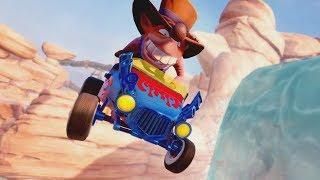 Crash Team Racing Nitro-Fueled - Customization Trailer (Kart & Skins)