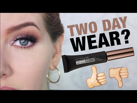 Maybelline Brow Gel Review | TWO Day Wear Test
