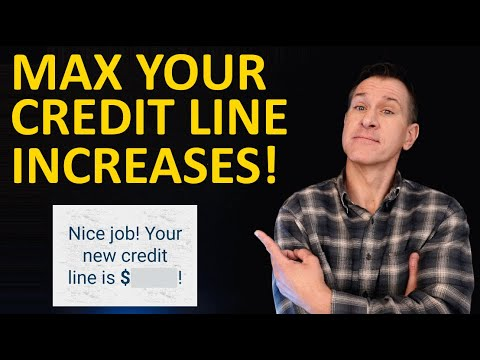 Credit Limit Increases - How to Get Highest Credit Card Lines from Amex, Chase, Capital One, Citi...