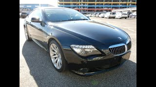 Nice Black BMW 650I that was picked up at Auction recently. Very affordable cars here in Japan.