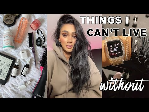 THINGS I CAN'T LIVE WITHOUT | Kindle, AlaniNu, Apple Watch, Oat Milk | missBRAWR