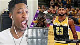 LEBRON THE WORST AMETHYST IN THE GAME! PLAYOFFS MOMENTS PACK N' PLAY Vs YG PART 2 - NBA 2K16 MYTEAM