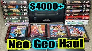 $4,500 Craigslist Mega Haul - Neo Geo AES Rare Games