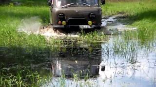 Буханка и вода Uaz 452