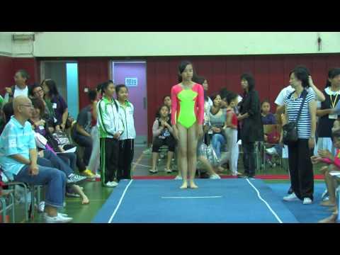 全港小學體操邀請賽 女子自由體操 36