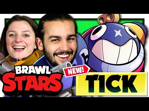 MISE A JOUR ET NOUVEAU BRAWLER : TICK ! | BRAWL STARS CO-OP FR