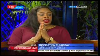 Jeff Koinange Live: Inspiration Thursday, Sinach In Kenya (Part 1) 24/11/2016