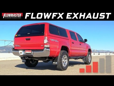 2005-15 Toyota Tacoma 4.0L - FlowFX Cat-back Exhaust System 717876