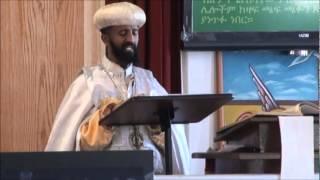 Hosanna be Betsu Liqe Papas Abune Yohannes - Palm Sunday sermon