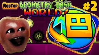 Midget Apple Plays   Geometry Dash World #2