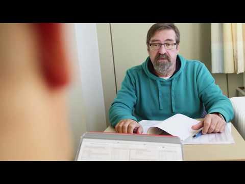 Die Akupunktur des Punktes für die Potenz