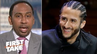 Stephen A. extends an open invitation to Colin Kaepernick, Nessa and Eric Reid | First Take