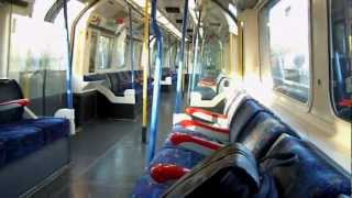 preview picture of video 'All alone in a London tube carriage'