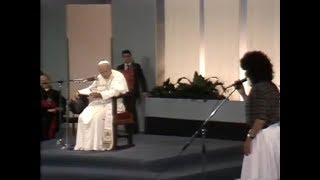 Jean-Paul II, Visite au Meeting de Rimini, 1982