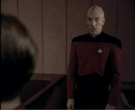 Picard - telling the truth