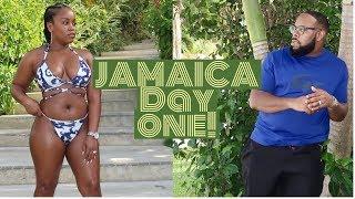 OCHO RIOS JAMAICA DAY 1 VLOG|SANDALS OCHI BEACH