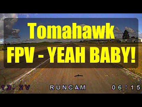 durafly-tomahawk-fpv-flight-test-runcam-swift-3-micro-camera