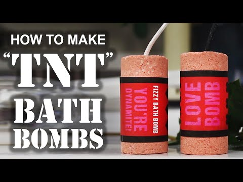 Make A DIY Fizzy Bath Bomb For Your Valentine