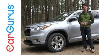 2016 Toyota Highlander Hybrid | CarGurus Test Drive Review