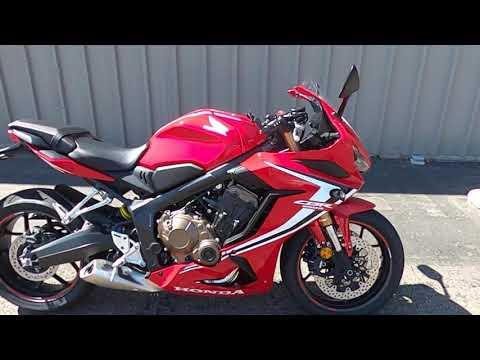 2020 Honda Powersports CBR650R