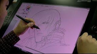 Illustration Process- Eisuke Ogura