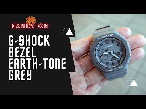 G-Shock Bezel Earth Tone Series Grey GA2110ET-8A