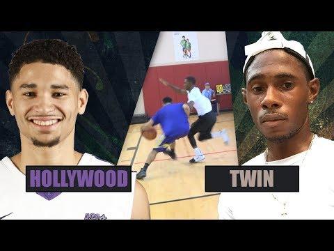 HOLLYWOOD ---vs--- TWIN  (1-on-1 Basketball) #V1F