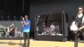 Nick Jonas singing Crazy Kinda Crush On You 7/20/13